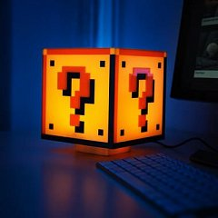 Lampa Ambientala Super Mario Bros - Question Block 3D