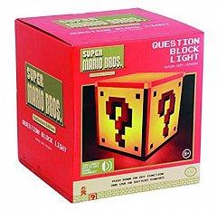 Lampa Ambientala Super Mario Bros - Question Block