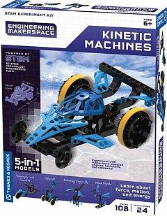 Kit experimente,STEM-Masini cinetice 5in1,+8Y,Kosmos