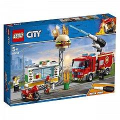 LEGO City Stingerea incendiul de la Burger Bar