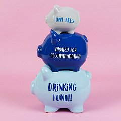 Pusculita ceramica,tripla,Drinking fund