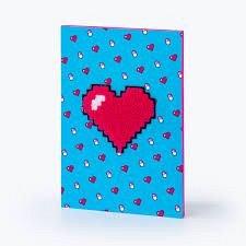 Agenda A5,70file,liniat,Heart