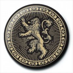 Insigna Game Of Thrones (Lannister Sigil)
