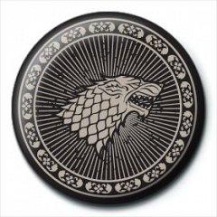 Insigna Game Of Thrones (Stark Sigil)