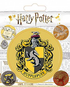 Set abtibilduri Vinyl - Harry Potter (Hufflepuff)