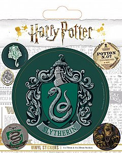 Set abtibilduri Vinyl - Harry Potter (Slytherin)