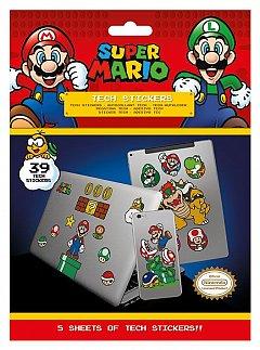 Set abtibilduri Tech - Super Mario (Mushroom Kingdom)