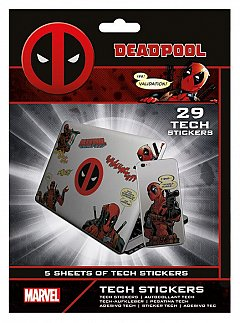 Set abtibilduri Tech - Deadpool (Merc With a Mouth)