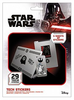 Set abtibilduri Tech - Star Wars (Force)
