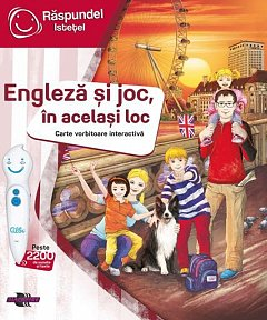 Raspundel Istetel-Carte engleza si joc, in acelasi loc