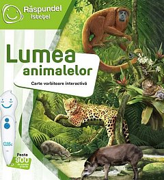 Raspundel Istetel-Carte lumea animalelor