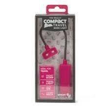 Lampa pentru citit, Pink - The Really COMPACT Book Light