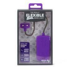 Lampa pentru citit, Purple - The Really FLEXIBLE Book Light