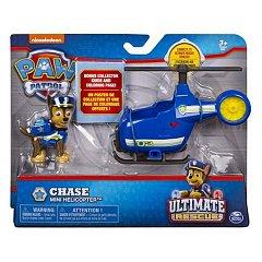 Minivehicul cu figurina Paw Patrol,Ultimate,Chase