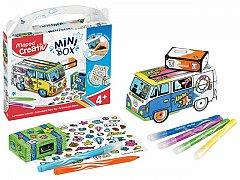 Set creativ Maped,Mini box,jucarie carton