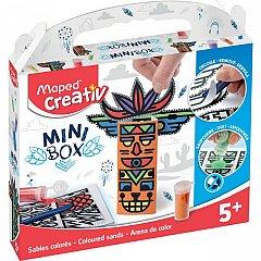 Set creativ Maped,Mini box,nisip colorat