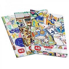 Caiet A4,48file,Mozaic,matematica