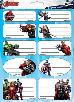 Etichete 20buc/set,Avengers