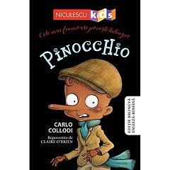 PINOCCHIO (EDITIE BILINGVA ENGLEZA-ROMANA)