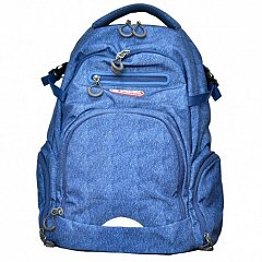 Rucsac Crash,43x30x21,5cm,laptop,Navy blue