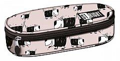 Penar tip borseta St.Right, 23x9.5x6 cm, 1 compartiment, Dogs