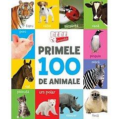BEBE INVATA. PRIMELE 100 DE ANIMALE (FORMAT MIC)