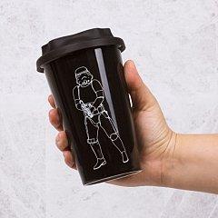 Cana Travel ceramica Stormtrooper, neagra