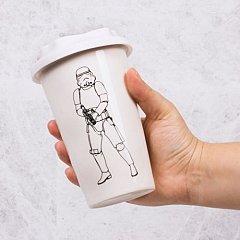 Cana Travel ceramica Stormtrooper, alba
