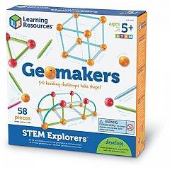 Set constructie,Forme 3D,STEM,Explorers,Learning Resources,+5Y