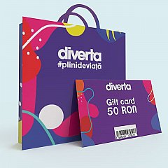 Gift card 50 RON,mov