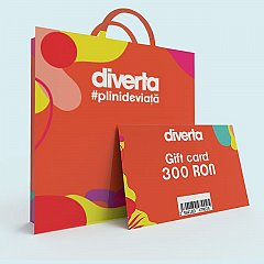 Gift card 300 RON,orange