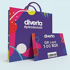 Gift card 100 RON,mov