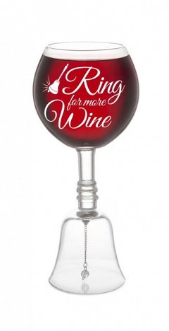 Pahar de vin cu clopotel - Ring For More Wine, BigMouth