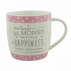 Life' Ceramic Mug - Whoever said money ....