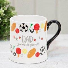 Quicksilver Mug with Foil - Dad