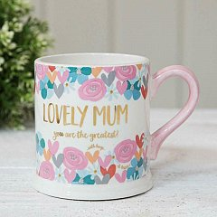 Quicksilver Mug with Foil - Mum