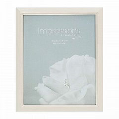 Impressions Wood Photo Frame Cream 8