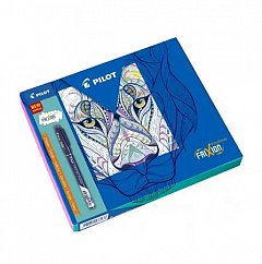 Set Frixion,5linere+carte colorat,model1
