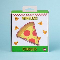 Incarcator QI Wireless, forma Pizza