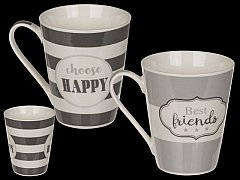 Cana Bone China - Best Friends & Choose Happy