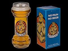 Pahar pentru bere - No Pain No Beer