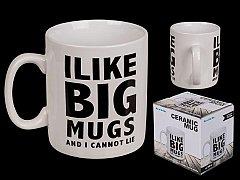 Cana Uriasa - I Like Big Mugs And I Cannot Lie, Ceramica