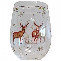 Pahar Vin Winter Stag Stemless