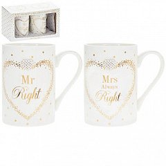 Set Cani Mad Dots, 2buc - Mr/Mrs Right