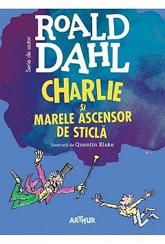 CHARLIE SI MARELE ASCENSOR DE STICLA. FORMAT MARE