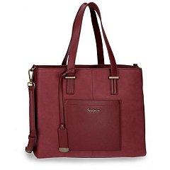 Geanta laptop 36cm,rosu,Pepe Jeans Lorain