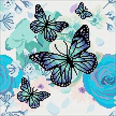Tablou creativ cu cristale,Fluturi