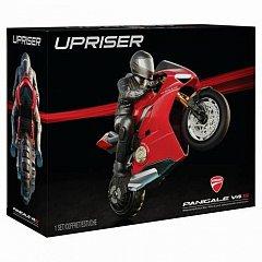 Motocicleta Ducati,RC,Panigale V4,pe o roata in viteza