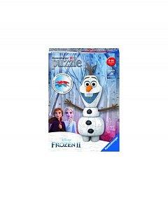 Puzzle 3D Ravensburger - Disney Olaf Frozen 2, 54 piese