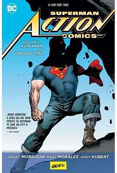 SUPERMAN ACTION COMICS #1: SUPERMAN SI OMUL DE OTEL